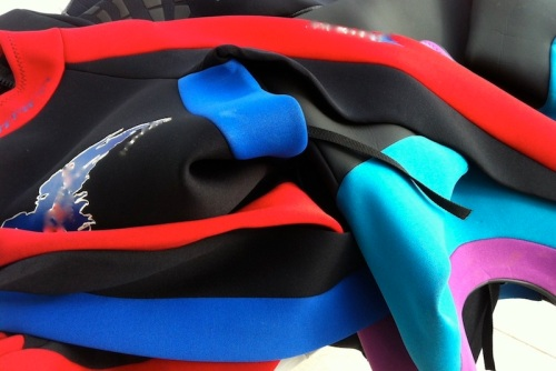 Color-coded Nicoprene wetsuit will mask their tobacco smell with seaweed, frangipani and stale urine scents, Blacktip Island's Bamboo You owner Piers 'Doc' Plank said.