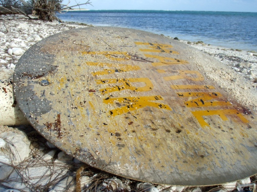 Blacktip Island residents worry a wave of vandalism will sweep over the Caribbean island with Blacktip's lone police officer on strike for better working conditions.