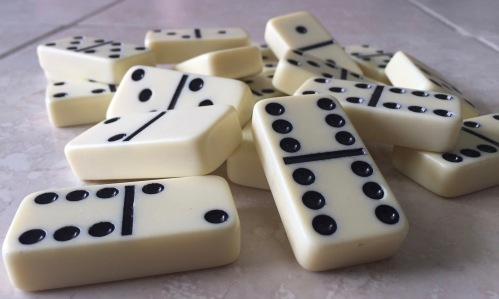 tag team dominoes